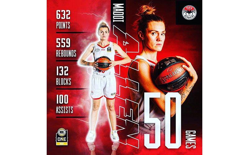 Maddie Allen 50 NBL1 Games